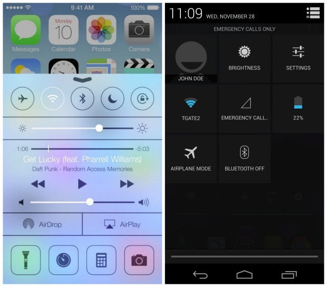 Jealous of your iOS7 Friends? Here's How to Make Android Feel Like iOS7
