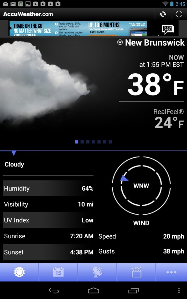 download Accu Weather for free