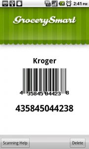 grocery smart scan