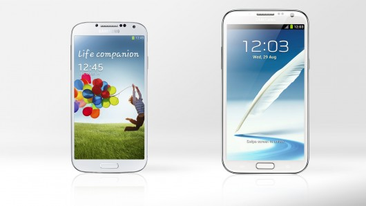 Samsung Galaxy S4 Versus Samsung Galaxy Note 3 Comparison