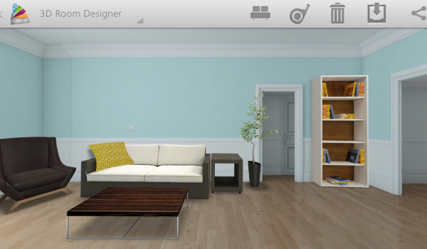 become an instant interior designer using your android