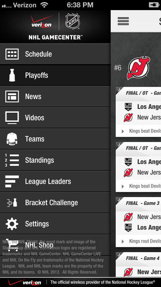nhl gamecenter 2