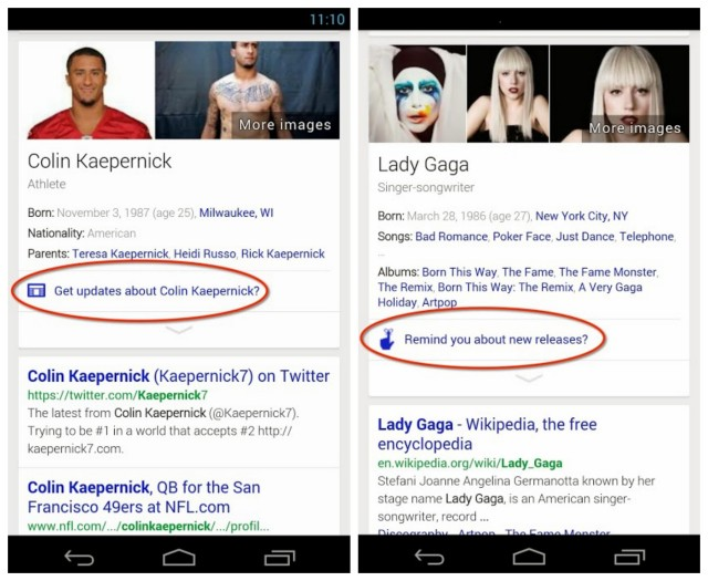 How to Use Google Now to Get Updates on your Favorite Celebrity