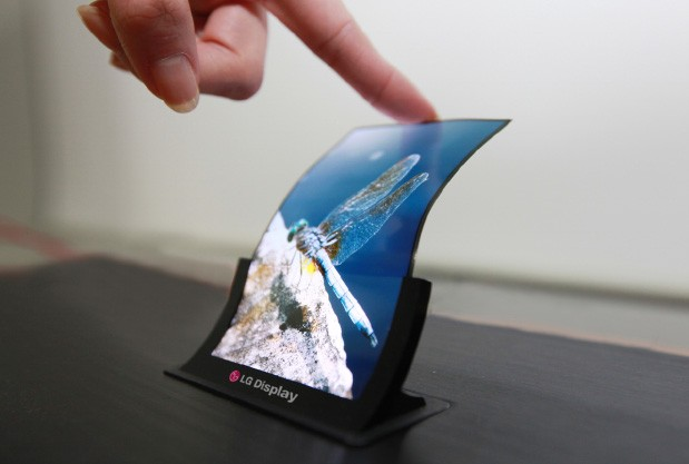 lg flexible display android