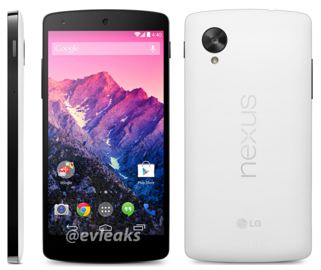 This is What a White Nexus 5 Will Look Like