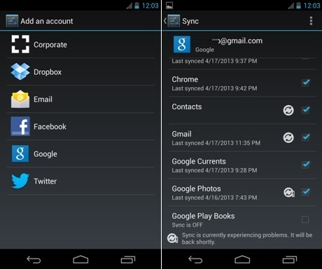 android sync battery life - Five Ways to Increase Battery Life on Android 4.4 KitKat