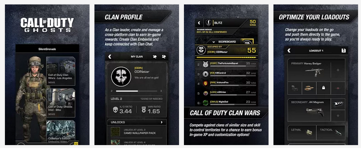 call of duty ghosts app