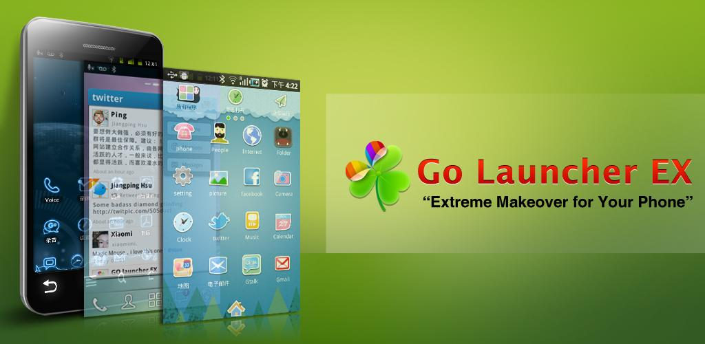 go launcher ex android - Give Your Android Homescreen A Deserved Makeover With Go Launcher Ex