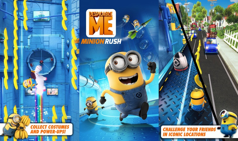 Unleash Some Hilarious Misdeeds On The World With Despicable Me Minion Rush