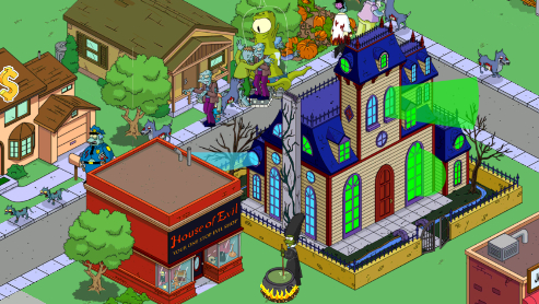 Sims simpsons android