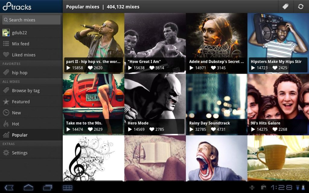 8 tracks android app free download