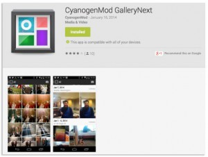 CyanogenMod Releases Much-Anticipated GalleryNext Beta App