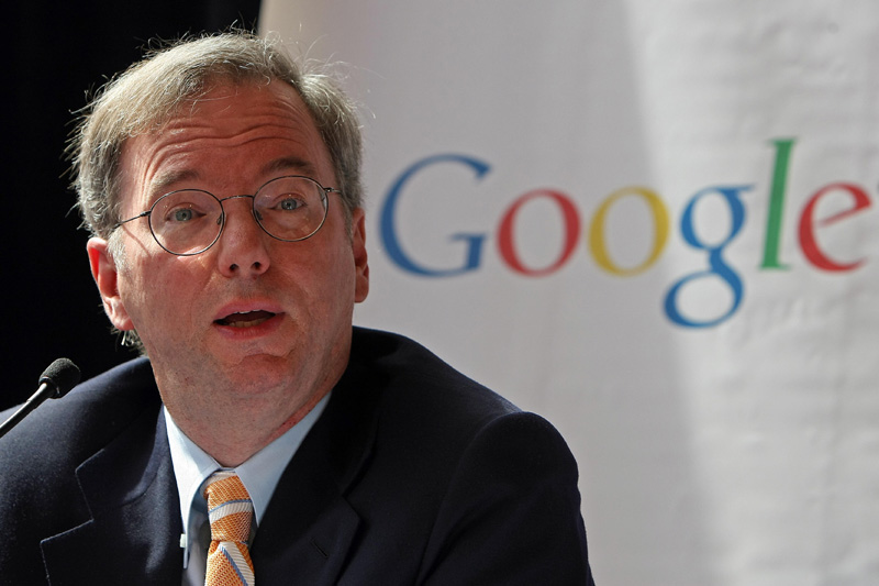 Google Exec Chairman Eric Schmidt Makes His Tech Predictions for 2014
