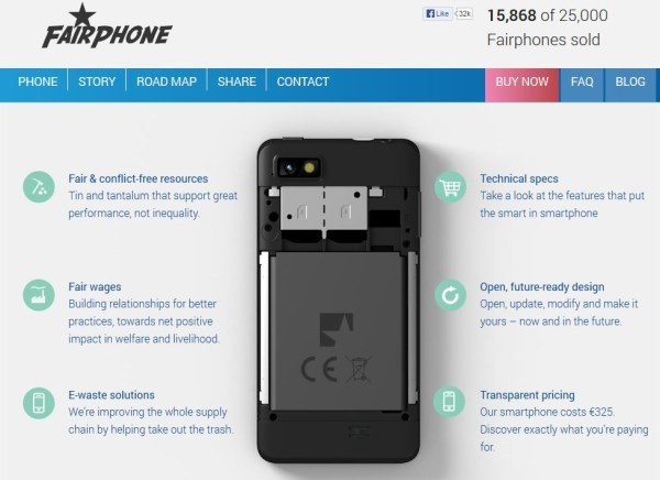Fairphone: the Fair Android Smart Phone Is Available Now