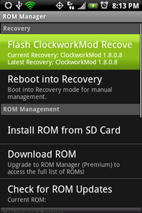 how to flash custom rom