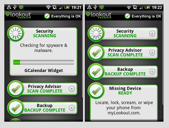 lookout 1 - Lookout – A Quality Anti-Virus Tool For Your Android Device