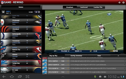 nfl rewind android