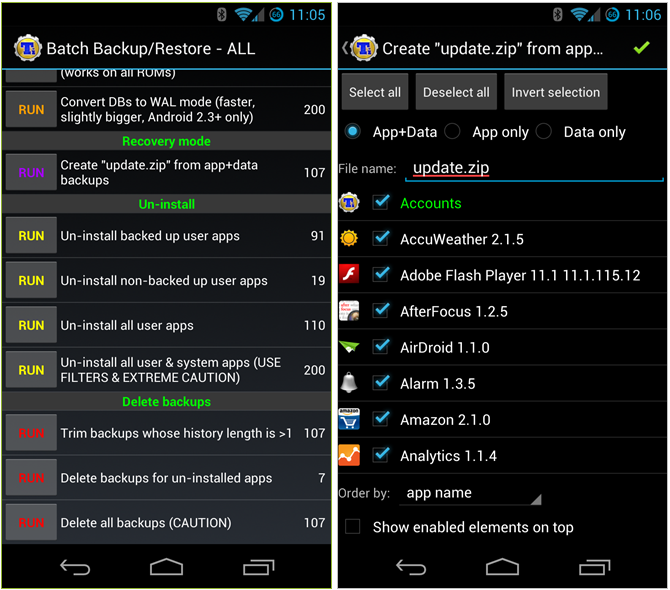 titanium backup android rooting app