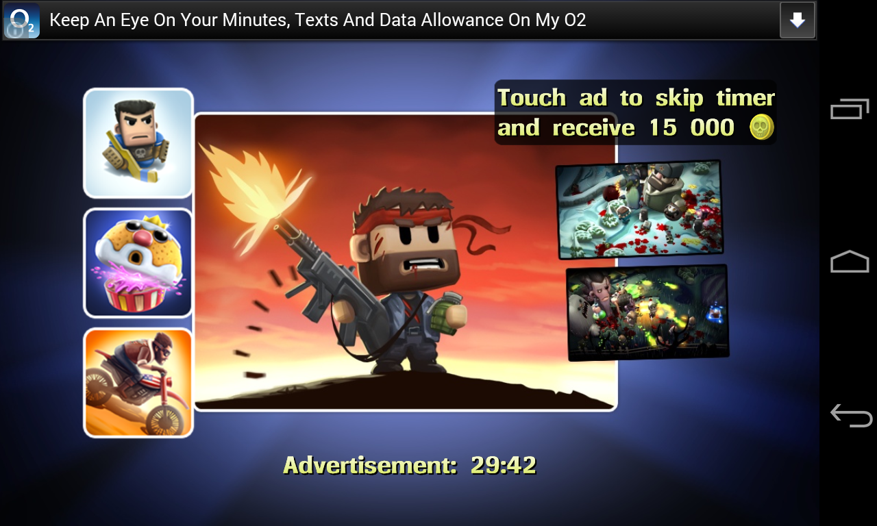 Android Game Cheats AdSense System, Forces Gamers to Click Ad or