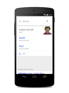 Google Voice Search Now Responds According to Your Relationship With Contacts