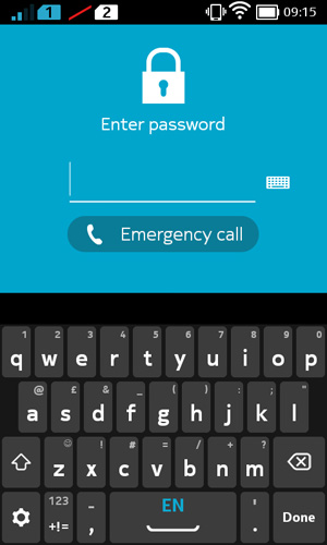 Nokia-X_security_password