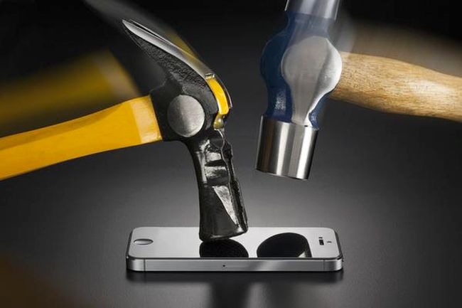 New Phone Screen Protector Protects Android from Hammers, Drills, and Other Torture Devices
