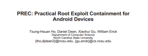 University Researchers Create Tool Which Prevents Android Root Exploit Malware