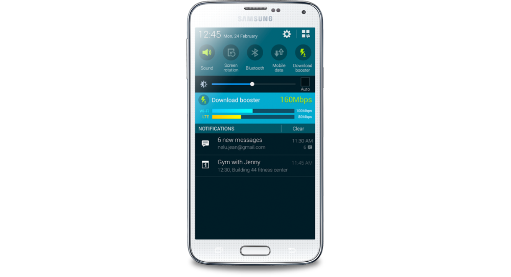 US Carriers Conspire to Remove Galaxy S5 Download Booster Feature
