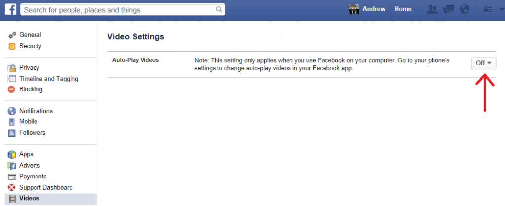 facebook autoplay 1