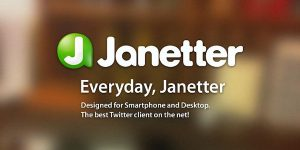 Janetter – A Bold New Twitter Client for Your Android Device