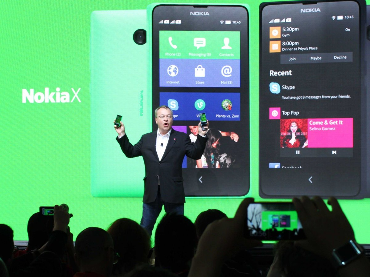 Microsoft Announces It Will Continue to Sell Nokia's Android Phones