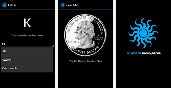 Ultimate Randomizer App Simulates Coin Flips and Randomizes Numbers and Letters