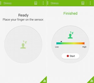 Galaxy S5 Heart Rate Sensor Now Judges your Stress Levels