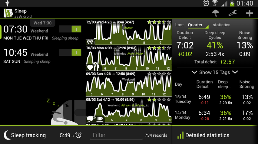 Sleep Like A Baby With Sleep As Android | One Click Root