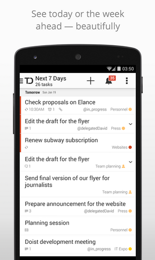 Capture III Todoist