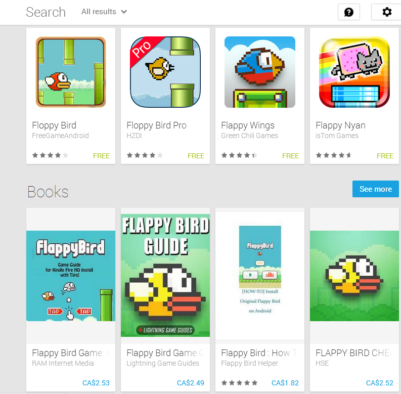 80% of Flappy Bird Clones on the App Store Contain Malware