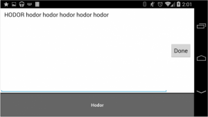 Introducing the Most Useless Android App Ever: The Hodor Keyboard