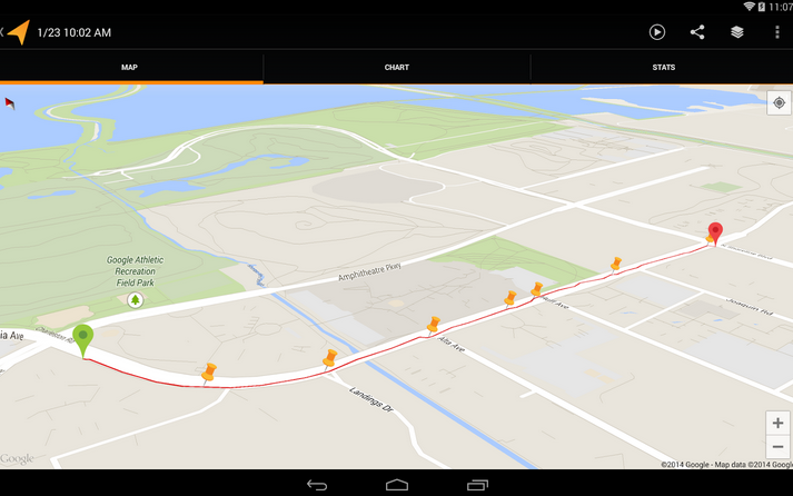 Google Releases Major Update to MyTracks Fitness Tracking App