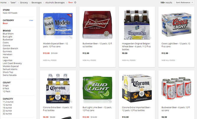 Google Shopping Express Now Delivers Booze