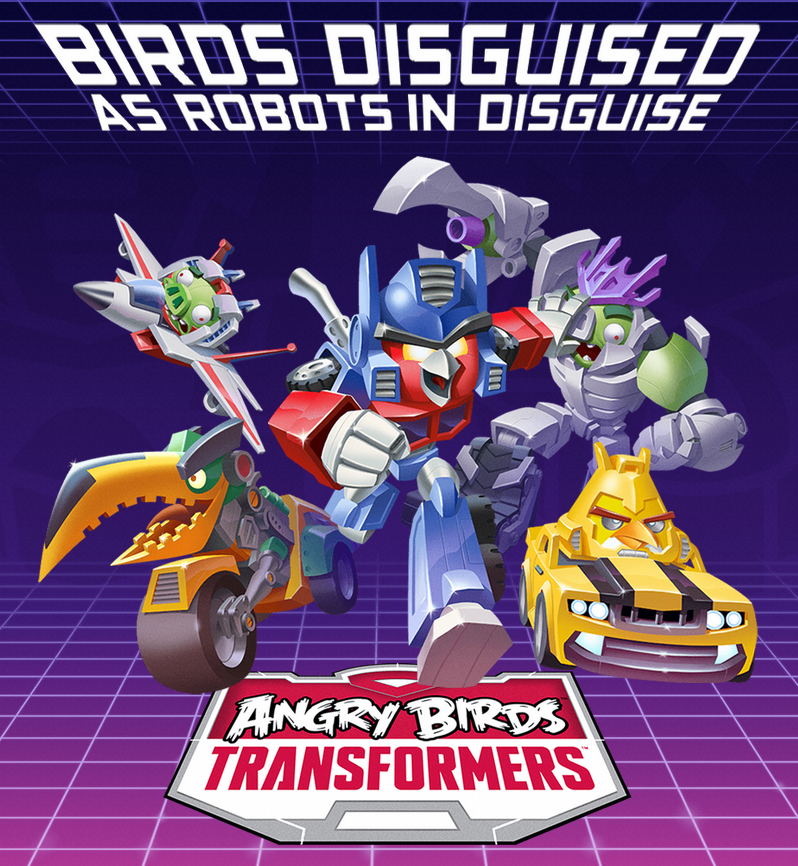 Angry Birds and Transformers Combine for Autobirds Versus Deceptihogs