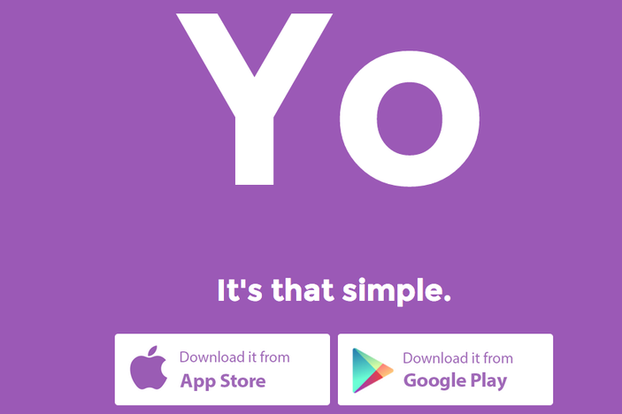 "Yo App Lets You Send ""Yo"" to Your Friends And That's It"