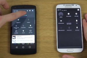 Android L vs Android 4.4 KitKat Comparison – What's Hot and What's Not