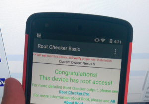 Android L Has Already Been Rooted