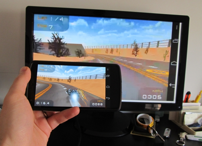 Screen Mirroring Now Available from Android to Chromecast