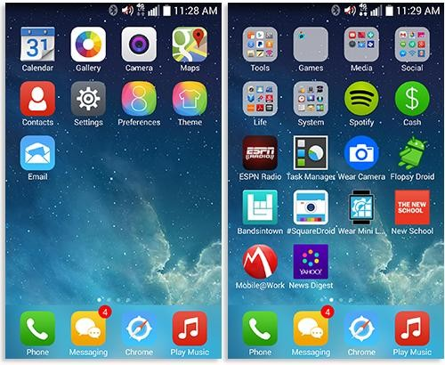 You Can Now Get Early Access to iOS 8…But Only on Android