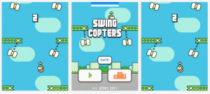 "Flappy Bird Creator Releases New ""Swing Copters"" Game"