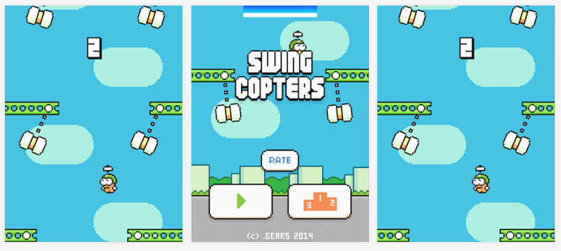 Google Responds to Complaints, Removes Swing Copters Clones from Play Store