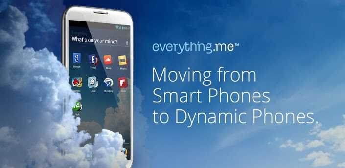 EverythingMe Launcher – Let Your Phone Get to Know the Real You