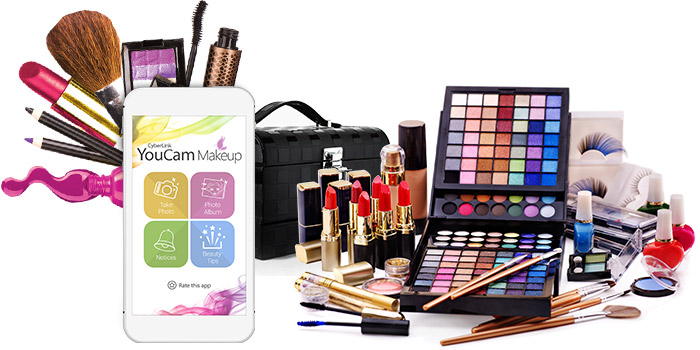 YOUCAM MAKEUP – Virtualize Your Make-Up Routines