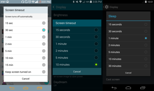 How to Keep your Android's Screen On for Longer